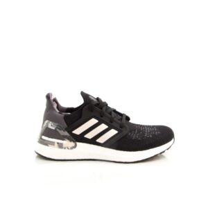 Adidas Ultraboost 20 Core Black/Pink Tint/Grey Four FV8349 Womens Road Running Shoes