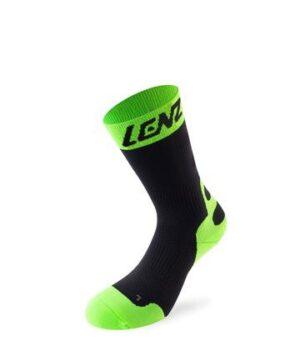 Lenz Compression Socks 6.0 Mid Black/Lime