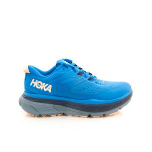 Hoka Stinson ATR 6 Indigo Bunting/Bleached Apricot Womens Trail Running Shoe