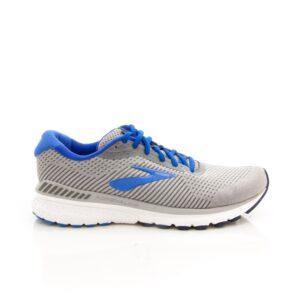 Brooks Adrenaline GTS 20 Grey/Blue/White Mens Road Running Shoe