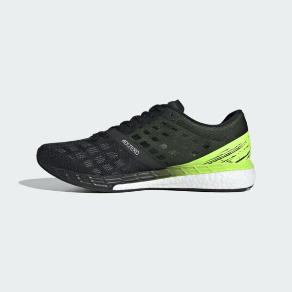 Adidas Adizero Boston 9 Core Black/Core Black/Signal Green EG4657 Mens