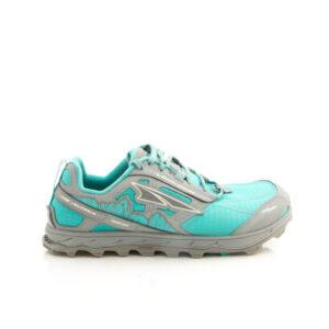 Altra Lone Peak 4 Turquoise/Grey Womens Trail Running Shoe