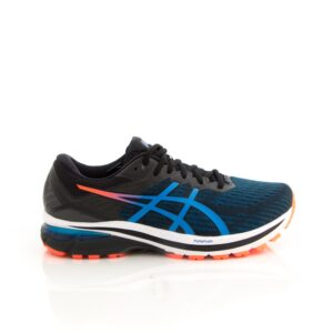 Asics GT-2000 9 (2E) Black/Directoire Blue Mens Road Running Shoes