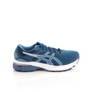 Asics GT-2000 9 (2E) Mako Blue/Grey Floss Womens Road Running Shoe