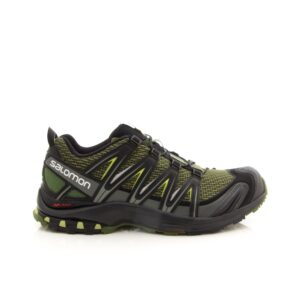 Salomon XA Pro 3D Chive/Black/Beluga Mens Trail Walking Shoe
