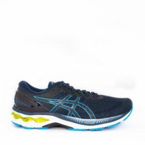Asics Kayano 27 French Blue/Digital Aqua Mens Road Running Shoe