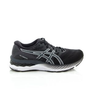Asics Gel-Nimbus 23 (2E) Black/White Mens Road Runner