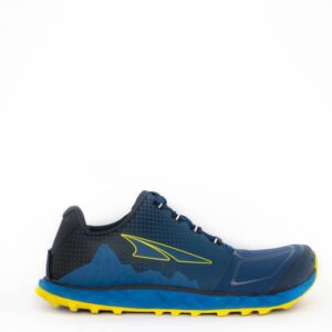 Altra Superior 4.5 Blue/Yellow Mens Minimal Trail Running Shoe