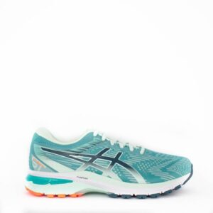 Asics GT-2000 8 (D) Techno Cyan/Magnetic Blue Womens Road Running Shoe