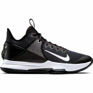 Nike Lebron Witness IV Black/White/Iron Grey Mens Basketball Shoe