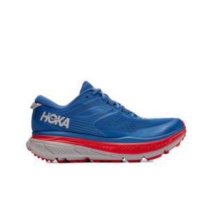 Hoka Stinson ATR 6 Dark Blue/High Risk Red Mens