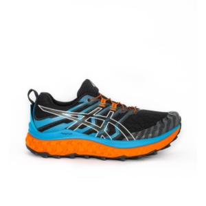 Asics Trabuco Max Black/Digital Aqua Mens