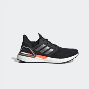Adidas Ultraboost 20 Core Black/Iron Metallic/Carbon FZ0174 Womens