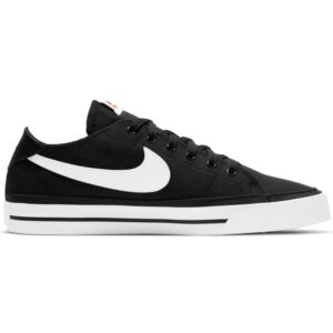 Nike Court Legacy Canvas Black Womens Casual shoes