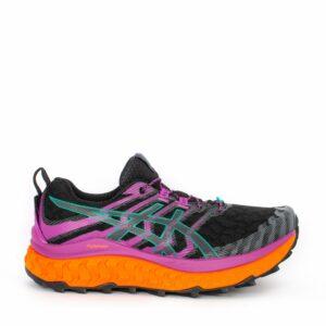 Asics Trabuco Max Black/Digital Grape Womens Maximalist Trail Running Shoe