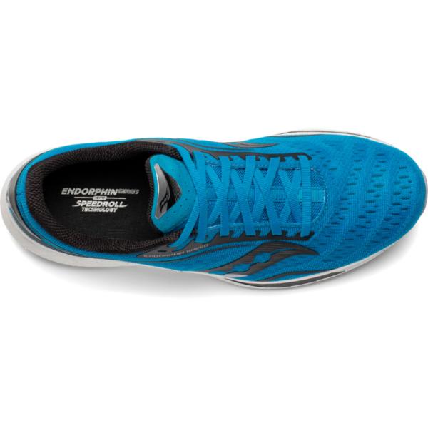 Saucony Endorphin Speed Cobalt/Silver Mens Carbon Plate Shoe