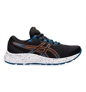 Asics Gel-Excite 8 (GS) Black/Marigold Orange Kids Running Shoe