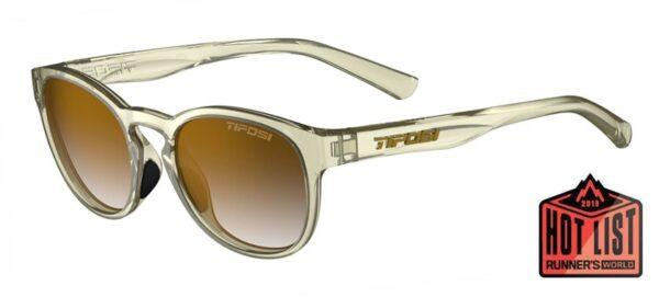 Tifosi Svago Satin Crystal Champagne Sunglasses