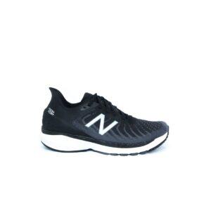 New Balance W860B11 v11 (D) Black/White/Lead Womens Road Running Shoe