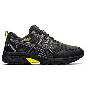 Asics Gel-Venture 8 GS WP Black/Sheet Rock Kids Trail Running Shoe