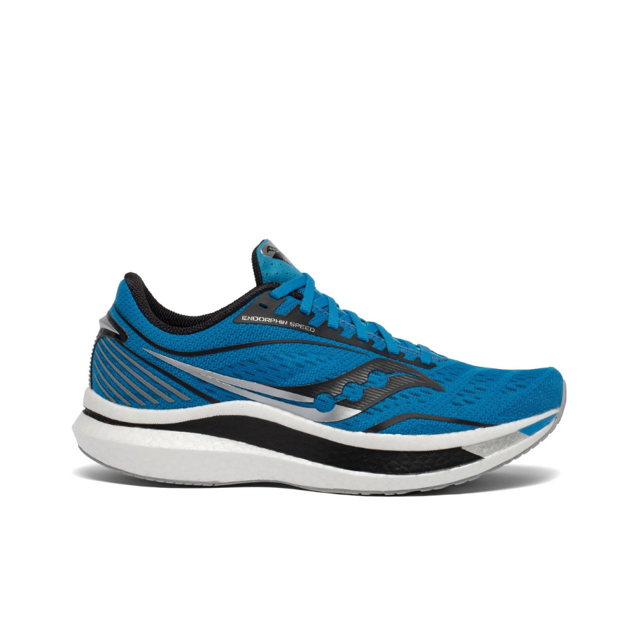 Saucony Endorphin Speed Cobalt/Silver Mens