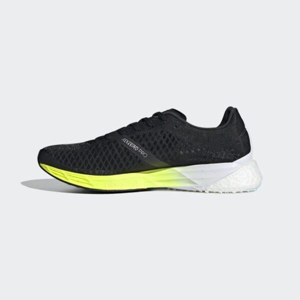Adidas Adizero Pro Core Black/Core Black/Solar Yellow Mens