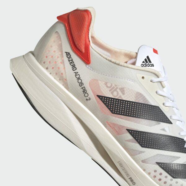 Adidas Adizero Adios Pro 2 White/Carbon/Red Mens