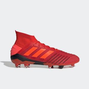 Adidas Predator 19.1 FG Active Red/Solar Red/Core Black BC0552