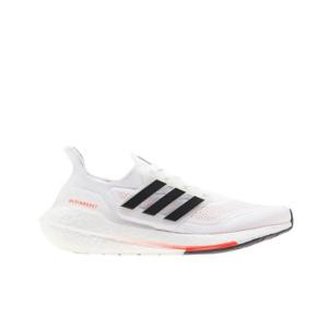 Adidas Ultraboost 21 Cloud White/Core Black/Solar Red Womens