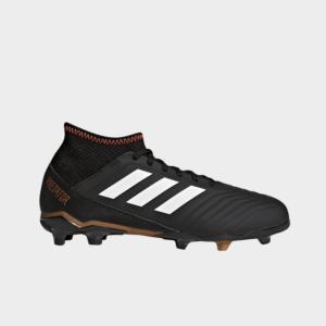 Adidas Predator 18.3 FG Black/White/Solar Red CP9010 Kids
